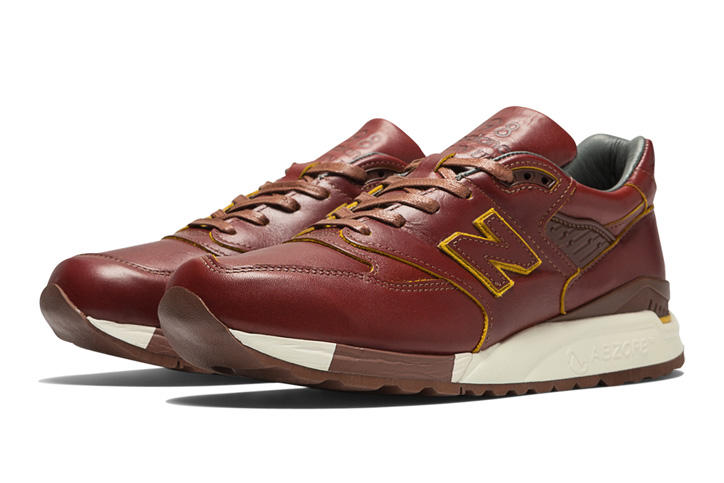 "Photo03 - HORWEEN LEATHER x new balance M998 ""Made in U.S.A"" を限定発売"