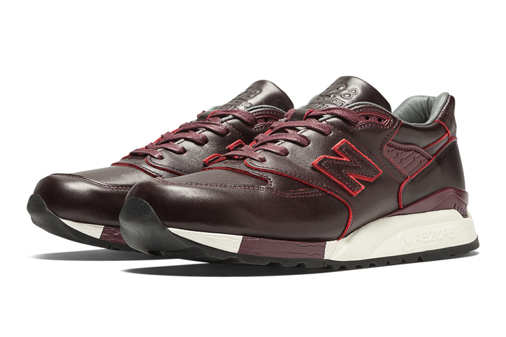 "Photo06 - HORWEEN LEATHER x new balance M998 ""Made in U.S.A"" を限定発売"