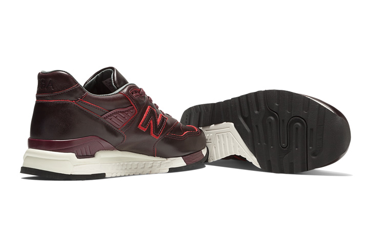 "Photo08 - HORWEEN LEATHER x new balance M998 ""Made in U.S.A"" を限定発売"