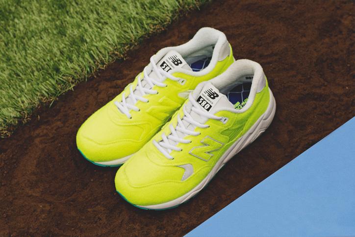 "Photo02 - テニスボールから着想を得たnew balance MRT580 ""The Battle of Surfaces"" ""mita sneakers""がゲリラリリース"