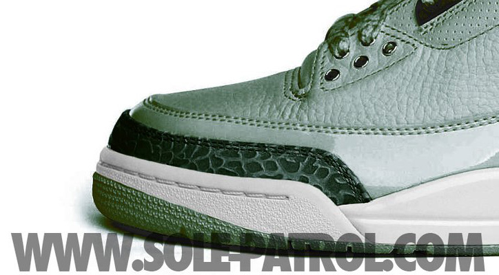 "Photo03 - NIKE AIR JORDAN 3 GREY/ BLACK CARBON/WHITE ""EXTRA ROUND"""
