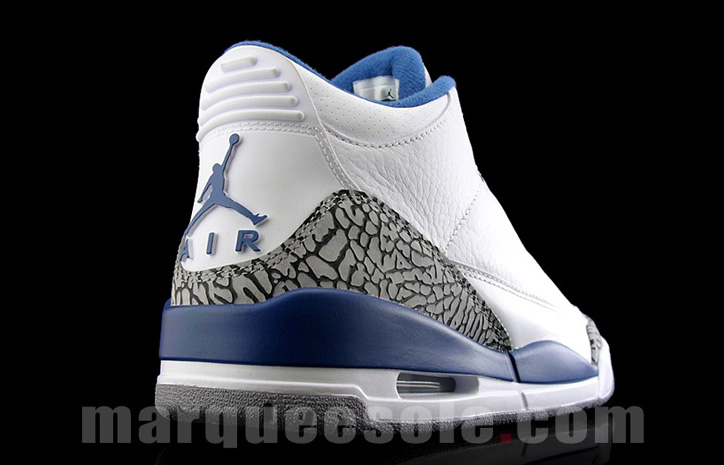 "Photo03 - NIKE AIR JORDAN 3 ""TRUE BLUE"""