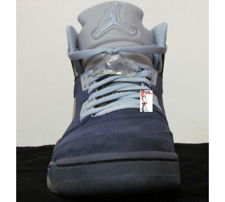 Photo03 - AIR JORDAN 5 BLUE UNRELEASED SAMPLE