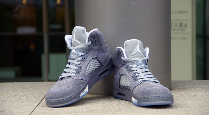 Photo02 - NIKE AIR JORDAN 5 RETRO WOLF GREY
