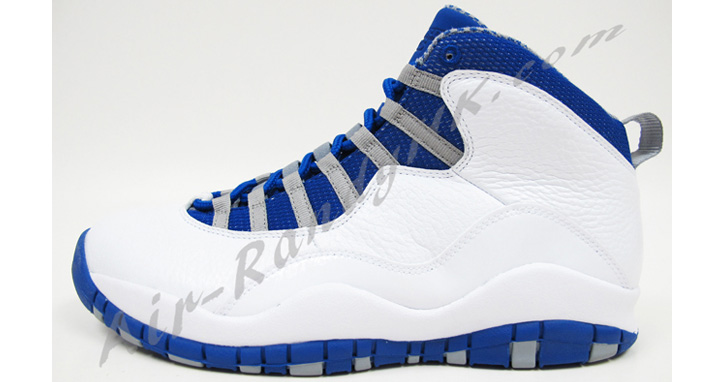 Photo01 - AIR JORDAN 10 WHITE/OLD ROYAL-STEALTH