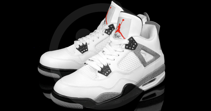 "Photo02 - AIR JORDAN 4 ""CEMENT"""