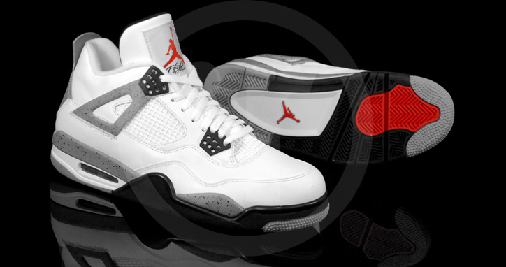"Photo03 - AIR JORDAN 4 ""CEMENT"""