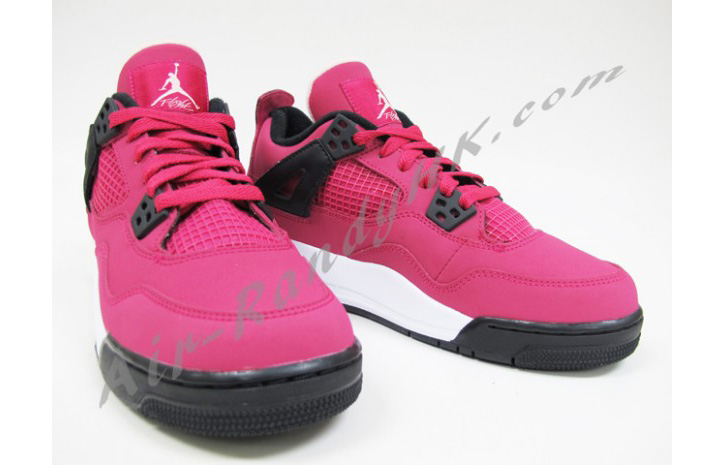 "Photo03 - AIR JORDAN 4 GS ""VOLTAGE CHERRY"""