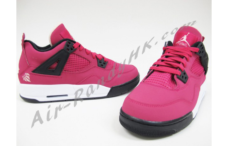 "Photo05 - AIR JORDAN 4 GS ""VOLTAGE CHERRY"""