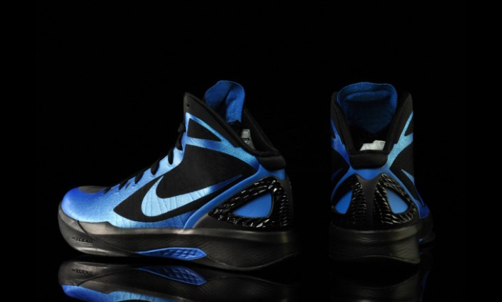 Photo05 - NIKE ZOOM HYPERDUNK 2011 PHOTO BLUE/BLACK