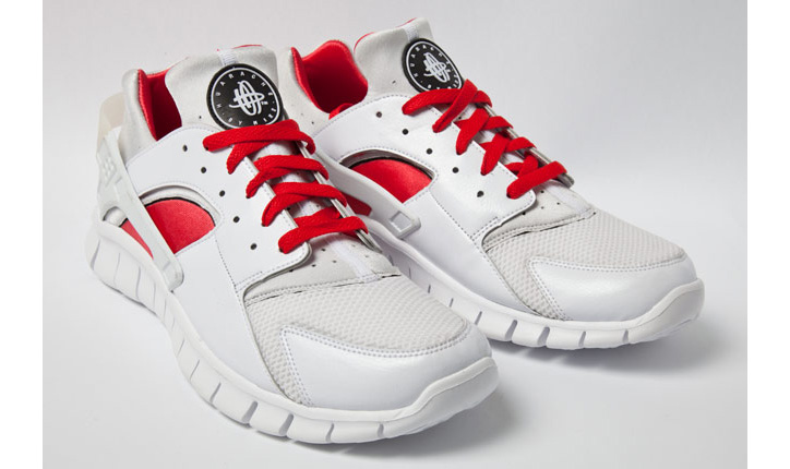 Photo02 - NIKE HUARACHE FREE RED/WHITE