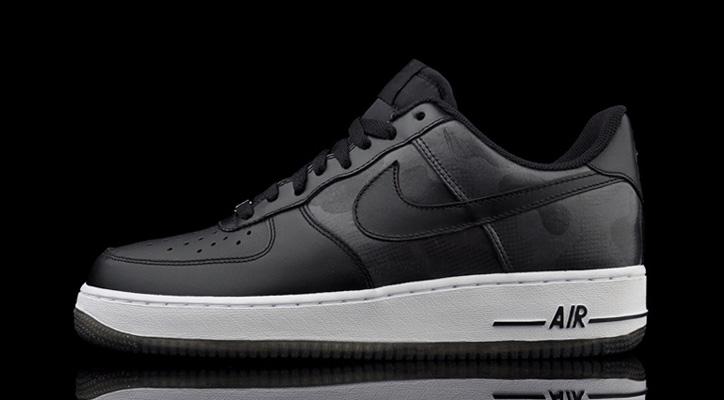 "Photo01 - Nike Air Force 1 ""Black Camo"""
