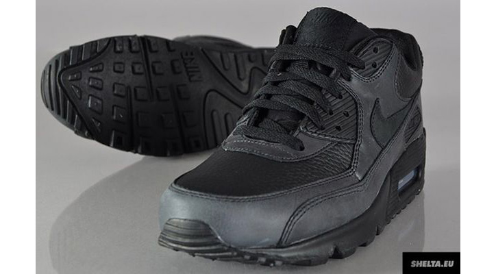 Photo01 - Nike Air Max 90 Black Leather