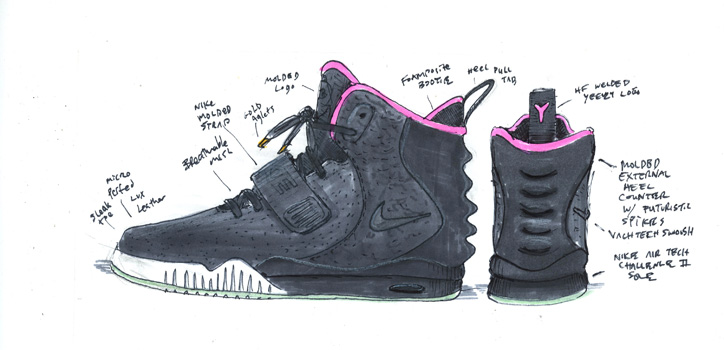 Photo10 - NIKE AIR YEEZY Ⅱ