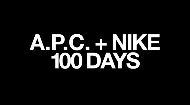 Photo01 - A.P.C. x NIKE – 100 DAYS TEASER