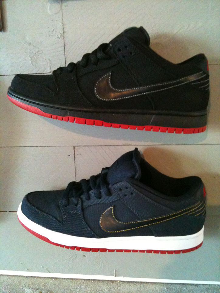 Photo02 - LEVI'S x NIKE SB DUNK PRO LOW – 2ND COLORWAY