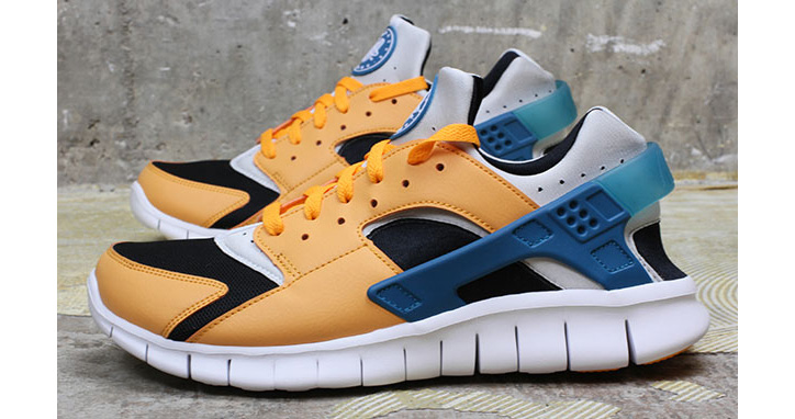 "Photo02 - NIKE HUARACHE FREE RUN ""INDUSTRIAL ORANGE"""