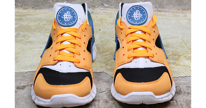"Photo06 - NIKE HUARACHE FREE RUN ""INDUSTRIAL ORANGE"""