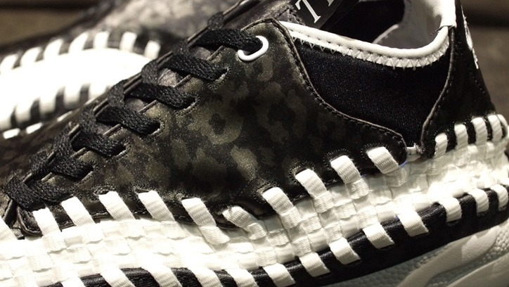 "Photo03 - NIKE AIR FOOTSCAPE WOVEN CHUKKA MONOTONE LEOPARD ""mita sneakers"""