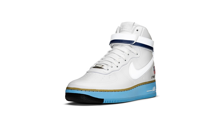"""Photo03 - NIKE AIR FORCE 1 HIGH BDAY """"XXX PEARL COLLECTION"""""""