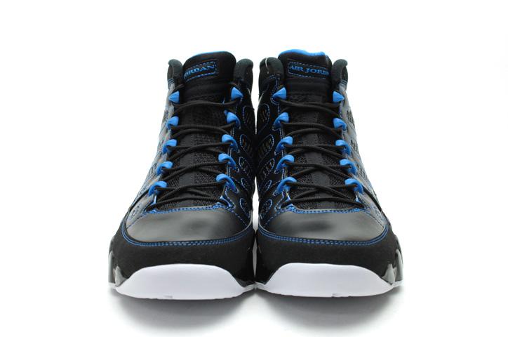 Photo07 - AIR JORDAN 9 RETRO BLACK/WHITE-PHOTO BLUE