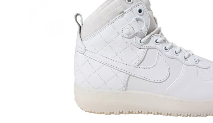 Photo01 - Nike Air Force 1 Duckboot White/White