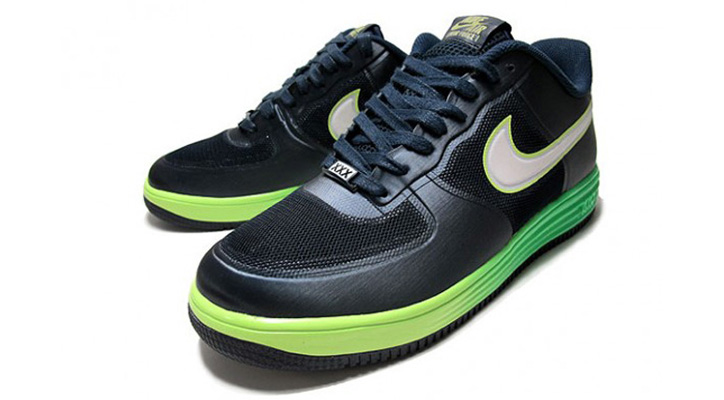Photo01 - NIKE LUNAR FORCE 1 ELECTRIC GREEN