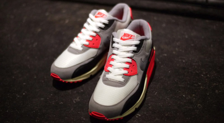 Photo01 - NIKE AIR MAX 90 OG 「LIMITED EDITION for SELECT」 SAIL/GREY/INFRARED