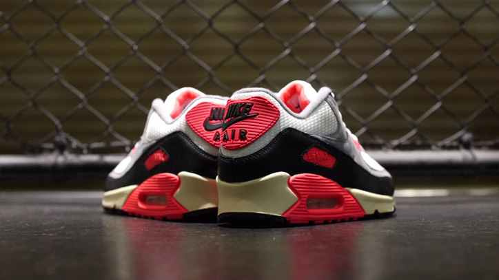 Photo06 - NIKE AIR MAX 90 OG 「LIMITED EDITION for SELECT」 SAIL/GREY/INFRARED