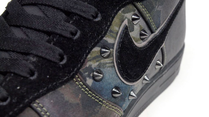 Photo06 - NIKE AIR FORCE I DOWNTOWN QS NEWSPRINT/BLACK 「LIMITED EDITION for NONFUTURE」