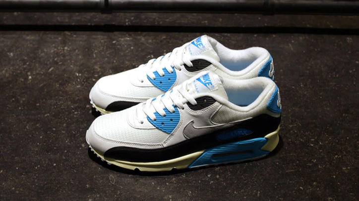 Photo02 - NIKE AIR MAX 90 OG 「LIMITED EDITION for SELECT」WHT/BLK/SAX