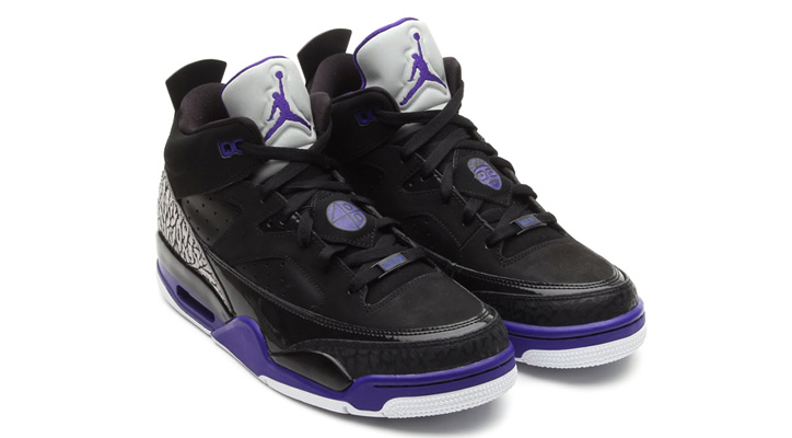 Photo02 - NIKE JORDAN SON OF LOW BLACK/GRAPE ICE-WHITE