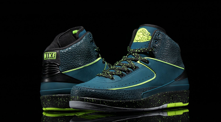Photo01 - NIKE AIR JORDAN 2 RETRO NIGHT SHADE/VOLT ICE-BLACK-PURE PLATINUMが発売