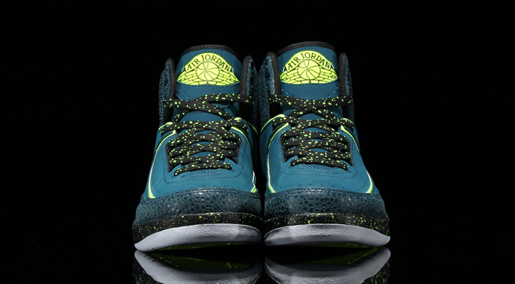 Photo04 - NIKE AIR JORDAN 2 RETRO NIGHT SHADE/VOLT ICE-BLACK-PURE PLATINUMが発売