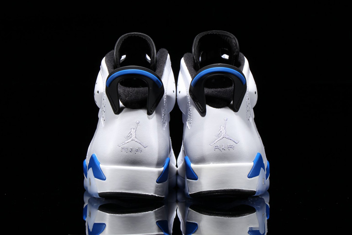 "Photo03 - NIKE AIR JORDAN VI RETRO ""SPORTS BLUE"" が発売"
