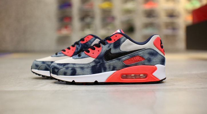 Photo01 - NIKE AIR MAX 90 Bleach Denim CollectionのWeb販売をスタート