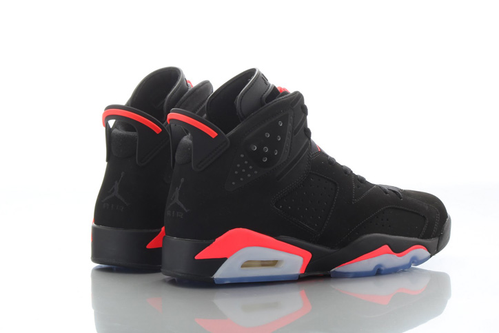 Photo02 - NIKE AIR JORDAN 6 BLACK/INFRARED が復刻
