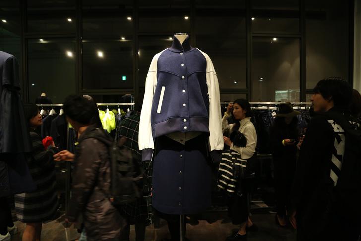 Photo03 - NikeLab x sacaiがスポーツウェアの定番に暖かく贅沢なひねりを加えた秋冬のコレクションを発表