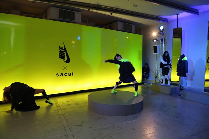 Photo15 - NikeLab x sacaiがスポーツウェアの定番に暖かく贅沢なひねりを加えた秋冬のコレクションを発表