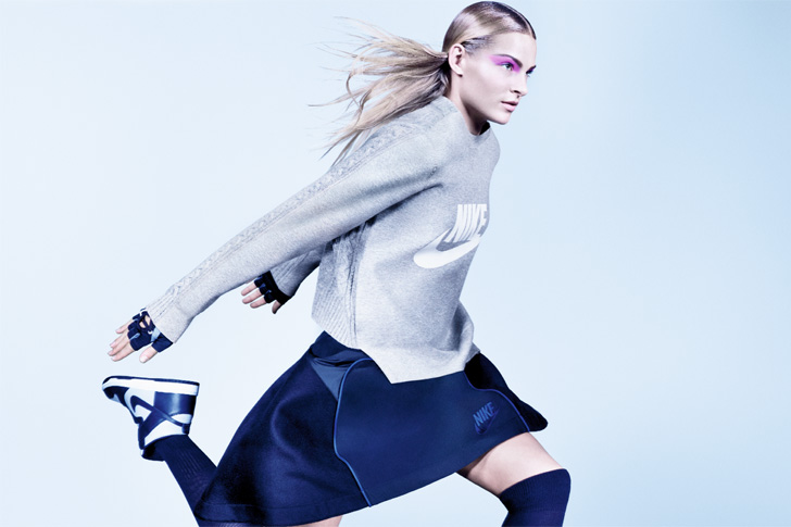 Photo22 - NikeLab x sacaiがスポーツウェアの定番に暖かく贅沢なひねりを加えた秋冬のコレクションを発表
