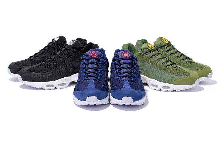 Photo01 - ナイキは、StussyとのコラボレーションモデルStussy Nike Air Max 95を発売