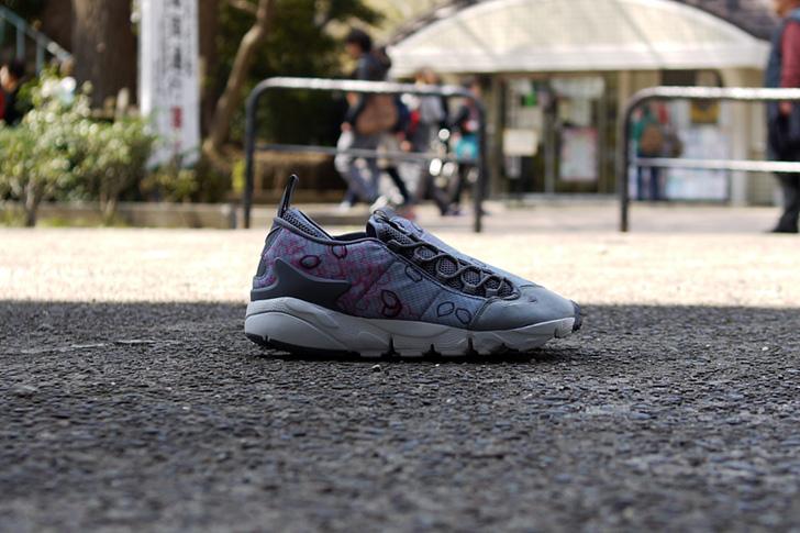 "Photo07 - ナイキから、桜をモチーフにしたmita sneakers提案モデルAIR FOOTSCAPE NM PREMIUM QS ""SAKURA""が発売"
