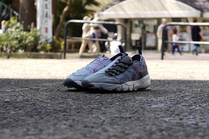 "Photo12 - ナイキから、桜をモチーフにしたmita sneakers提案モデルAIR FOOTSCAPE NM PREMIUM QS ""SAKURA""が発売"
