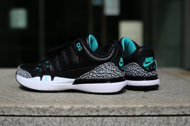 "Photo07 - NIKE COURT ZOOM VAPOR RF X AIR JORDAN 3 ""atmos""がSports Lab by atmos Shinjukuにて世界先行発売"