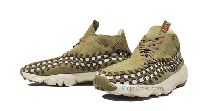 "Photo02 - NIKE AIR FOOTSCAPE WOVEN CHUKKA ""DARK ARMY"""