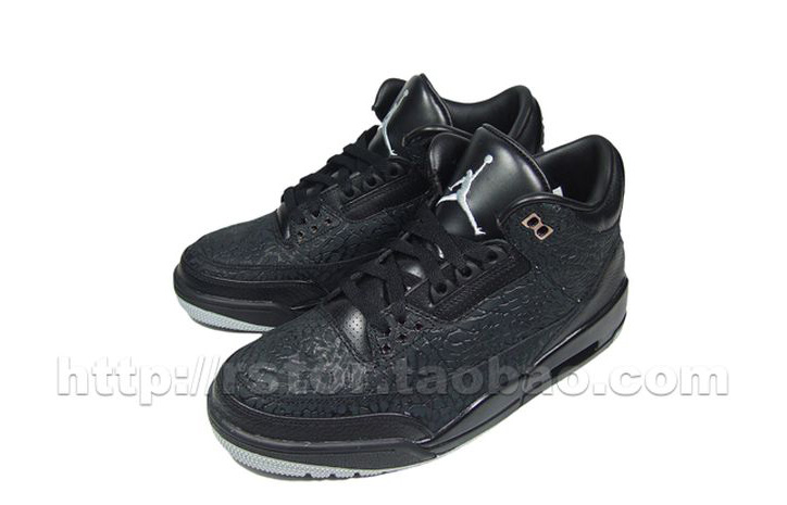 "Photo05 - AIR JORDAN 3 ""BLACK FLIP"" NEW IMAGES"