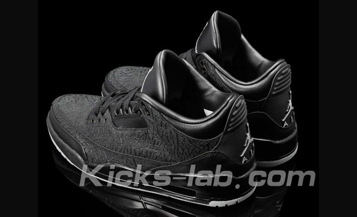 "Photo04 - NIKE AIR JORDAN 3 ""BLACK FLIP"""