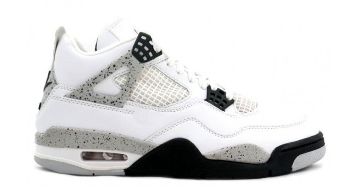 Photo01 - NIKE AIR JORDAN 4 WHITE/CEMENT GREY