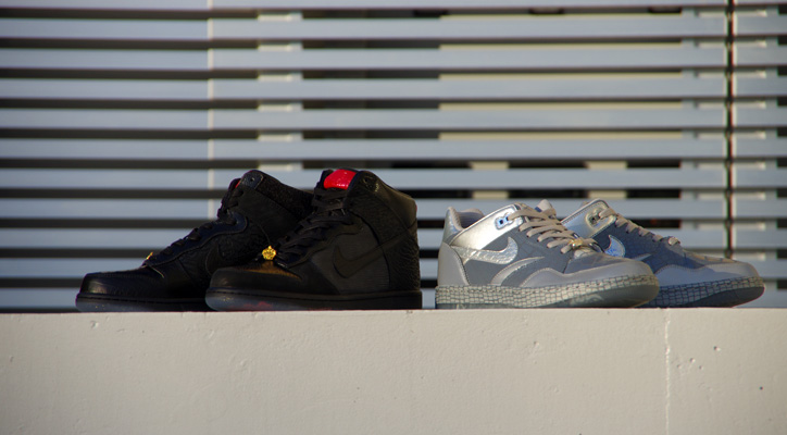 Photo01 - Mighty Crown x NIKE DUNK HI PREMIUM / SKY FORCE 88 LOW LTR