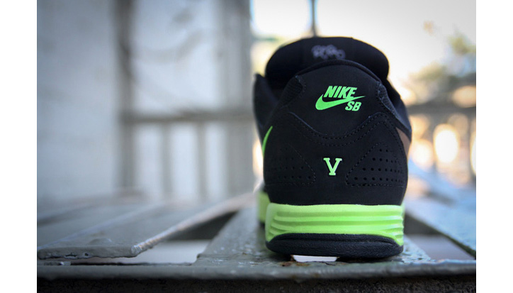 Photo02 - Nike SB Paul Rodriguez 5 Black/Volt